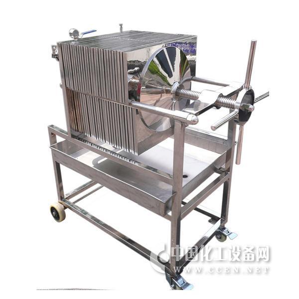 不锈钢多层板框过滤机的结构特点:        不锈钢多层板框